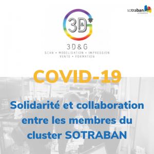 COVID-19 - Solidarité entre les adhérents du cluster
