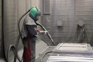 Peinture Industrie à Argentan, Grenaillage, adhérent SOTRABAN